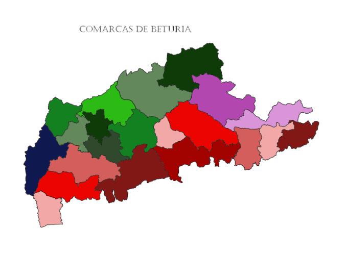 MAPA COMPLETO DE BETURIA